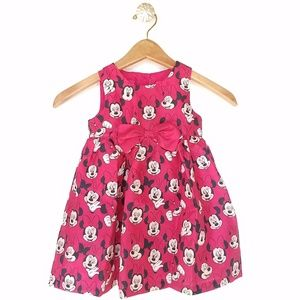 Minnie Mouse girls sleeveless red dress size 2T